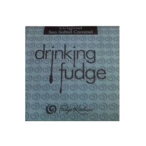 Sea Salted Caramel - Drinking Fudge (Liquid Hot Chocolate Mix) By Fudge Kitchen